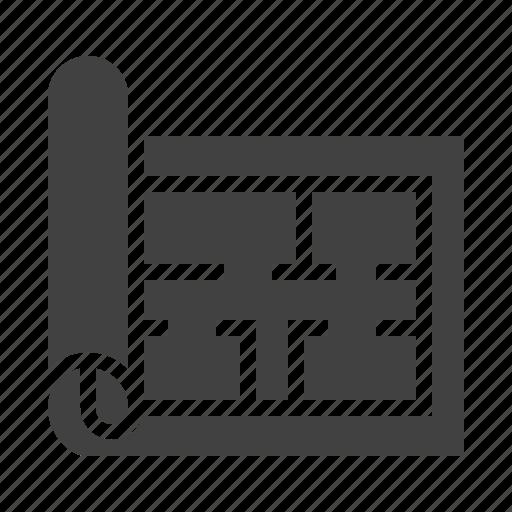 Architecture blueprint design engineering icon malvernweather Images