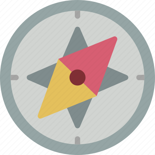 compass, direction, geography, location, navigation icon