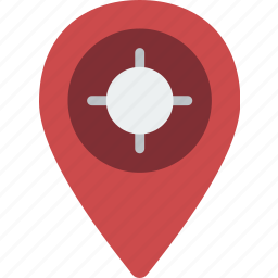 flag, geography, location, map, pin, place icon