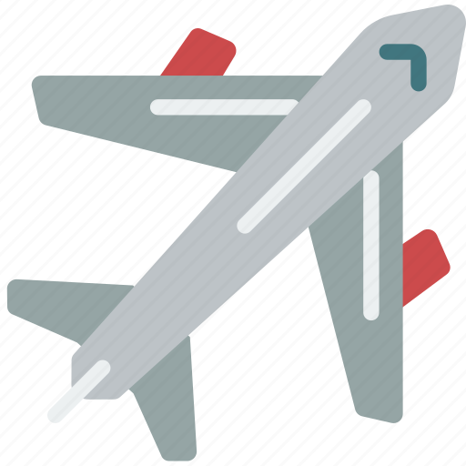 aeroplane, fly, geography, transport, travel icon