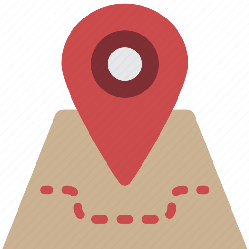 Geography, map, pin, location, navigation icon - Download on Iconfinder