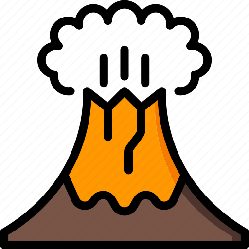 Geography, volcano, education, science, study icon - Download on Iconfinder