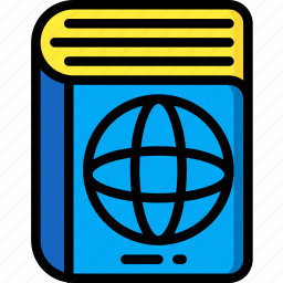 atlas, earth, geography, map, world icon