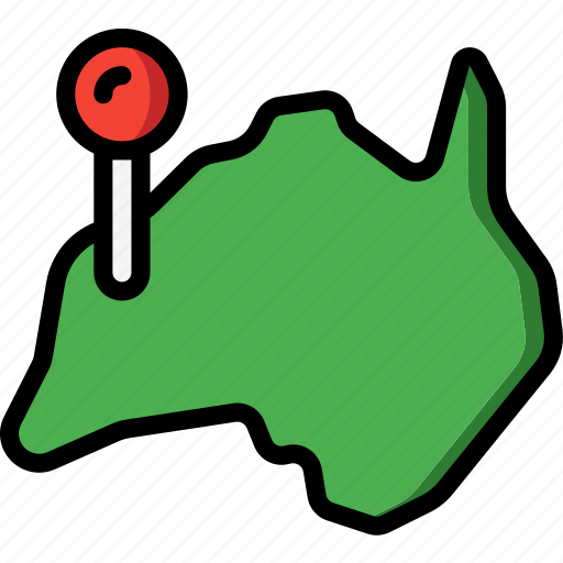 australia, country, geography, location, national icon
