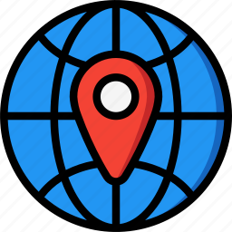 country, geography, global, globe, pin icon