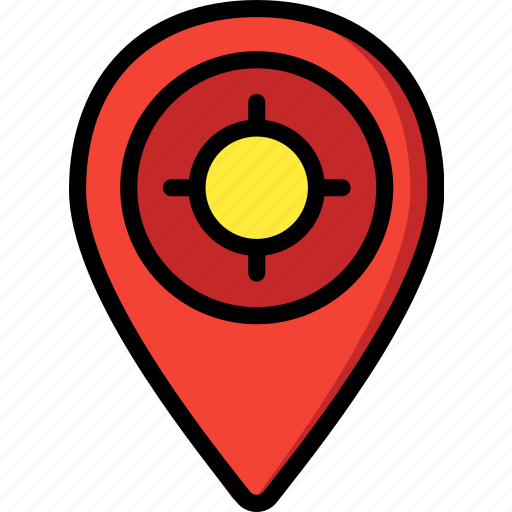 direction, geography, location, navigation, pin icon