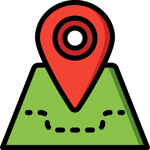 direction, geography, location, map, navigation, pin icon