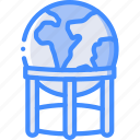 earth, geography, global, globe, stand, world icon