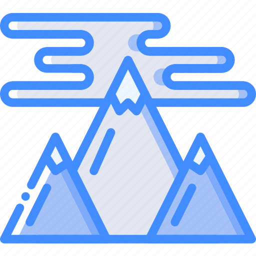 geography, landscape, mountain, mountains, nature icon