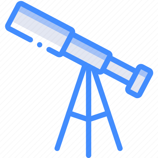 astronomy, geography, science, space, telescope icon
