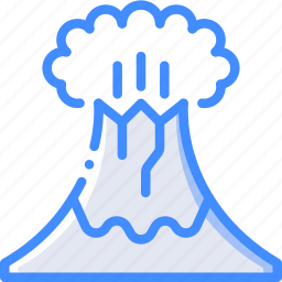 country, geography, location, map, volcano icon