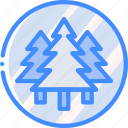 forest, forrest, geography, tree, trees icon