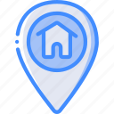 geography, home, location, map, navigation, pin icon