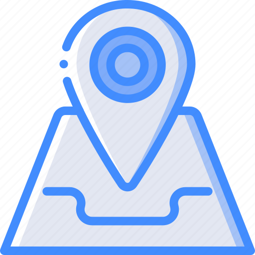 arrow, geography, location, map, navigation, pin icon