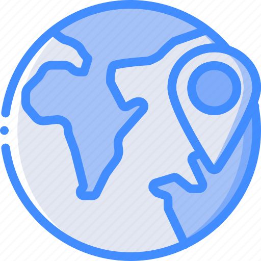 direction, geography, globe, map, navigation, pin icon
