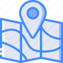 map, pin, geography, navigation, location