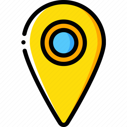geography, location, map, navigation, pin icon