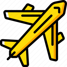 aeroplane, airplane, fly, geography, plane icon