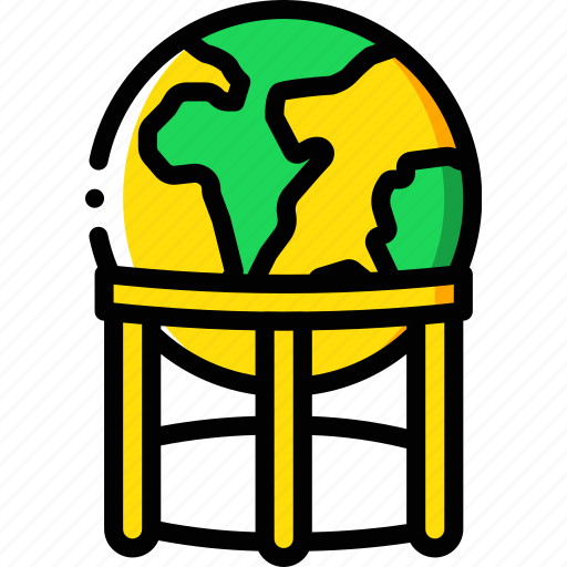 Geography, globe, stand, earth, planet, world icon - Download on Iconfinder