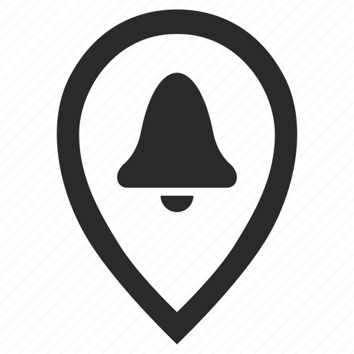 geo, location, pointer, warning icon