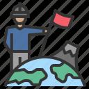 earth, exploration, geology, survey, winner