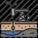 industry, instrument, mine, pump, rig