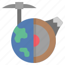 earth, geography, geological, landform, survey icon
