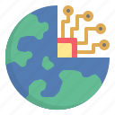 digital, earth, innovation, science, technology