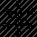 christmas snowflake, flower snowflake, geometric snowflake, lotus snowflake, snowflake design icon