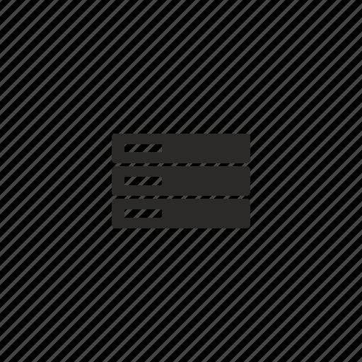 database, server, storage icon