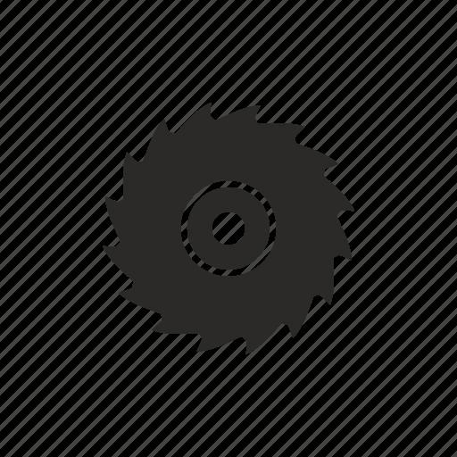 circular, disc, equipment, saw icon