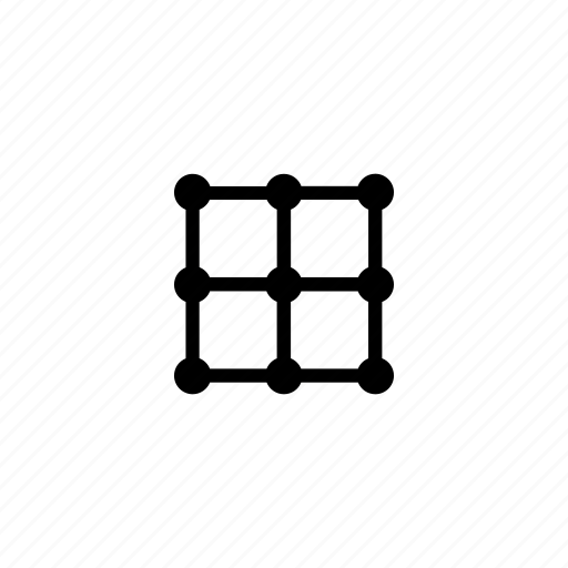 grid, image, transform icon
