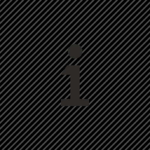 data, help, info icon