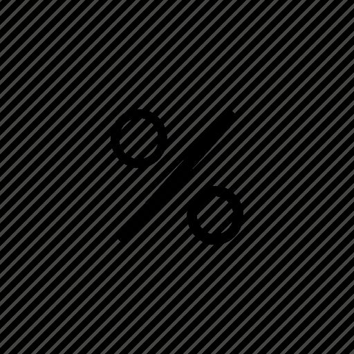 function, math, percent icon