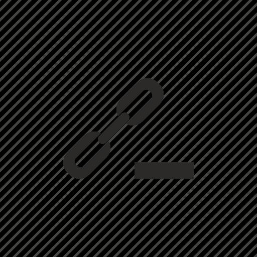 cut, erase, function, href, link, seo icon