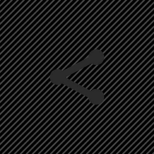 href, link, share, url icon