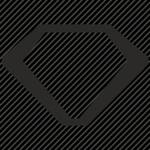 brilliant, diamond, form, jewelry, logo, logotype icon