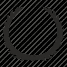 car, form, laurel, logo, logotype, shield icon