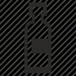 alcohol, bar, bottle, form, logo, wine icon