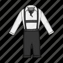 accessories, clothing, fashion, german, men's, national, shirt icon