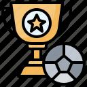 award, cup, marketing, trophy
