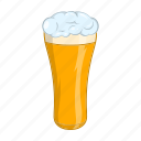 alcohol, ale, beer, cartoon, drink, glass, pint icon