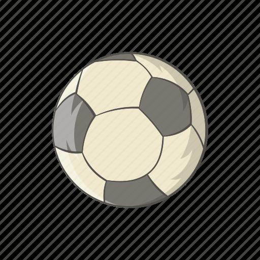 ball, cartoon, football, game, play, soccer, sport icon