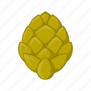 beer, brew, cartoon, creeper, flavor, hop, plant icon