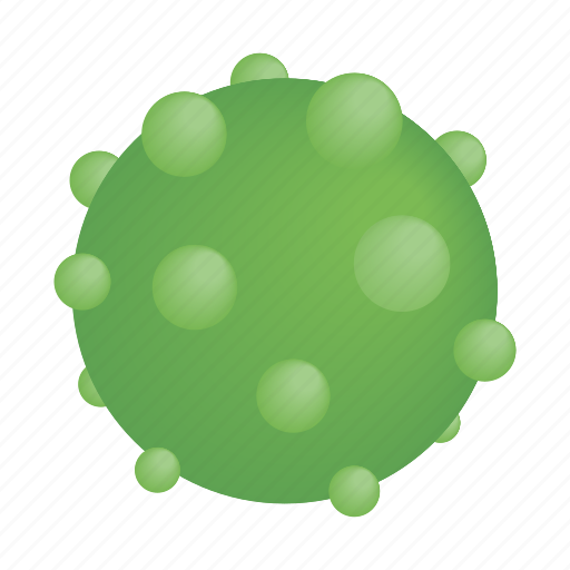 bacteria, biology, disease, isometric, pimples, sphere, virus icon
