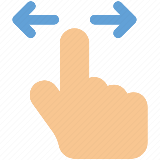 finger, gesture, hand, tap, touch icon icon icon