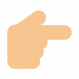 finger, gesture, hand, interaction, right, show icon icon icon