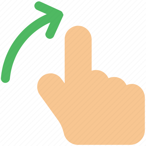 finger, gesture, hand, interactive, right, scroll, swipe icon icon icon