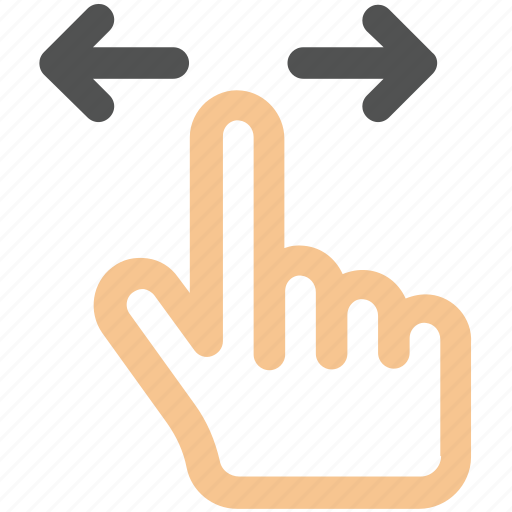 finger, gesture, hand, tap, touch icon icon