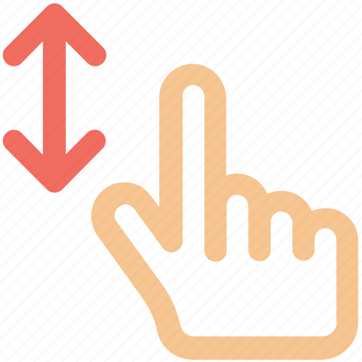 Arrow, arrows, bottom, creative, direction, down, finger icon - Download on Iconfinder